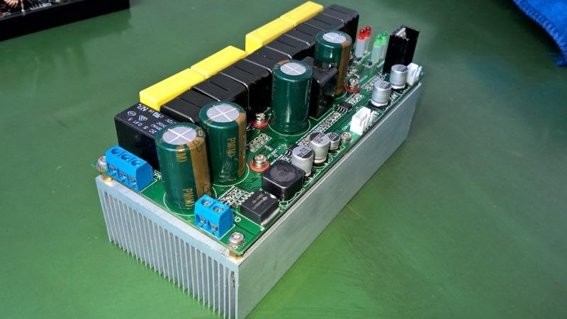 SA500D  48V供电500W水声功放