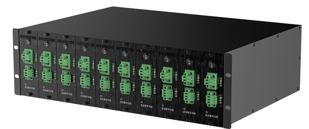X5 10通道500W 100V定压数字放大器阵列