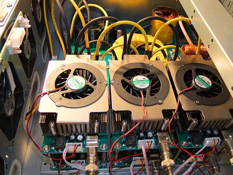 High frequency ultrasonic amplifier