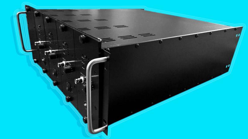 SA40200D 200W fixed frequency sonar amplifier array